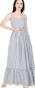 Coming soon  Perle Donna Striped Maxi Dress